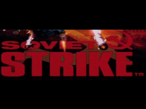 Classic PS1 Game Soviet Strike on PS3 in HD 1080p