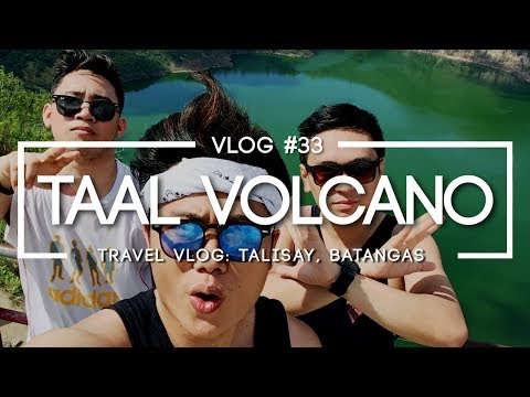 Minute-Montage: The TAAL VOLCANO TOUR, Talisay Batangas - A Visual Vibes (Travel) Vlog