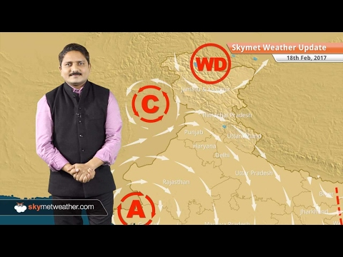 Weather Forecast for Feb 18: Warm weather in Delhi, Mumbai, snow in Kashmir, HP, Uttarakhand