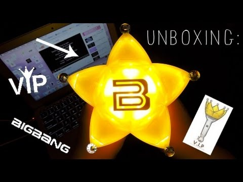Unboxing: BigBang Light Stick Version 4 (+ Review)   YouTube