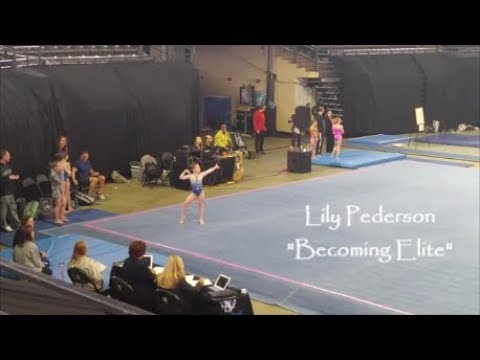 Lily Pederson *Becoming Elite* KPAC Elite Qualifier Meet Floor