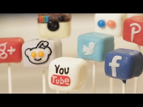 Make SOCIAL MEDIA CAKE POPS - NERDY NUMMIES Screenshots