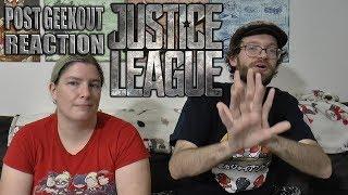 Justice League - Post Geekout Reaction