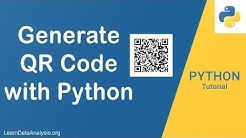 How to Generate QR Code with Python | Python Application Tutorial