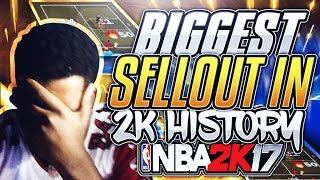 BIGGEST SELL OUT VS 50 STREAK MAKE IT TAKE ! I CRIED BIGGEST SELLOUT IN 2K HISTORY NBA 2K17
