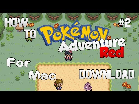 How To Download Pokemon Adventure Red For The Mac