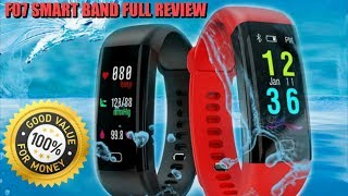 F07 Smart Band Fitness Tracker is worth the money FULL REVIEW l COOL GADGET REVIEWS