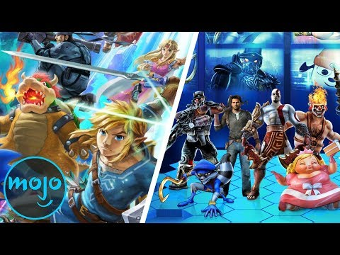 Top 10 Blatant Super Smash Bros Copycat Games