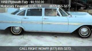 1959 Plymouth Fury For Sale Sedan for sale in Headquarters i