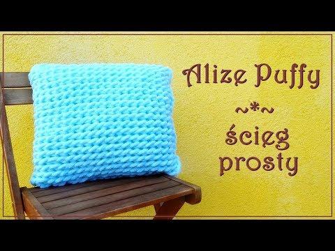 Alize Puffy - ścieg prosty