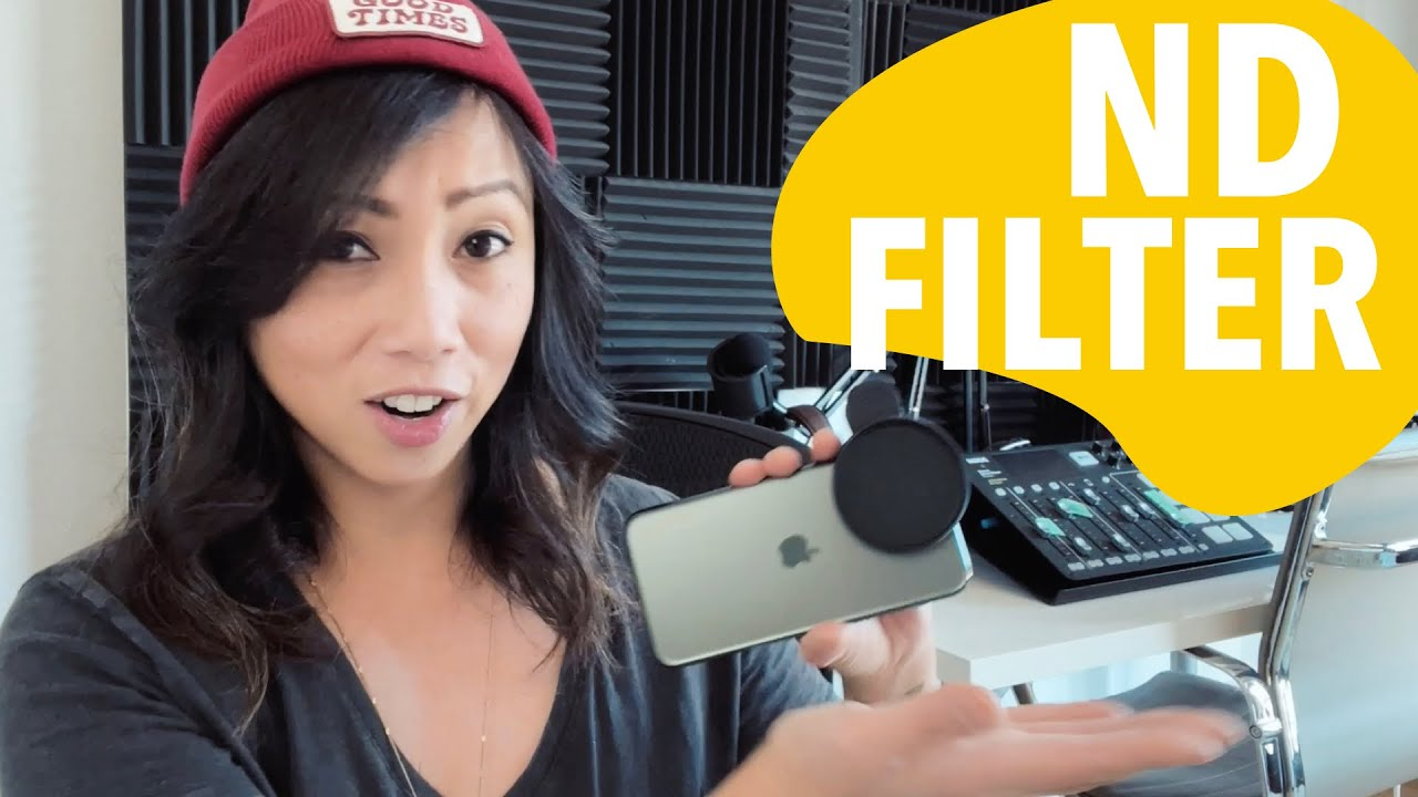 iPhone 12 Pro ND Filter for Cinematic Footage