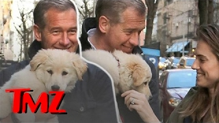 Brian Williams Steps Out For The First Time Since Suspension!