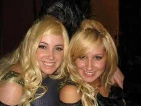 Ashley Tisdale And Sister Jenn