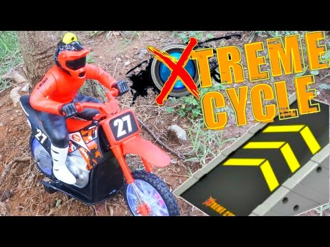 XTREME CYCLE DIRT BIKE ACTION JUMPS CRASHES GOPRO HELMET CAM R/C RACE MOTOCROSS MOTORCYCLE