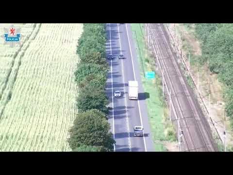 Policjanci nagrywają wykroczenia z drona - zobacz wideo  Świnoujście w sieci - eswinoujscie.pl