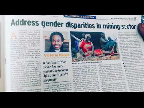 DR VICTORIA NALULE'S EXPERTISE IN ENERGY & MINING