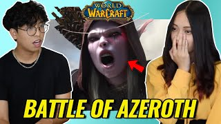 Non-World of Warcraft Plaỳers React to World of Warcraft: Battle for Azeroth Cinematic Trailer!!