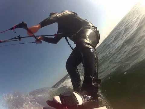 Kiteboarding at Jetty Island, WA