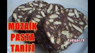 Mozaik pasta tarifi ... Bisküvili Pasta Tarifi ...  Mozaik Bisküvili Pasta