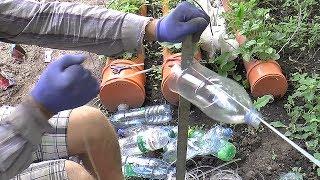 Ручной бутылкорез  изготовление пэт ленты веревки из бутылок