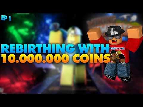 [Roblox] Mining Simulator: REBIRTHING WITH 10.000.000 COINS! (2018 ep1)