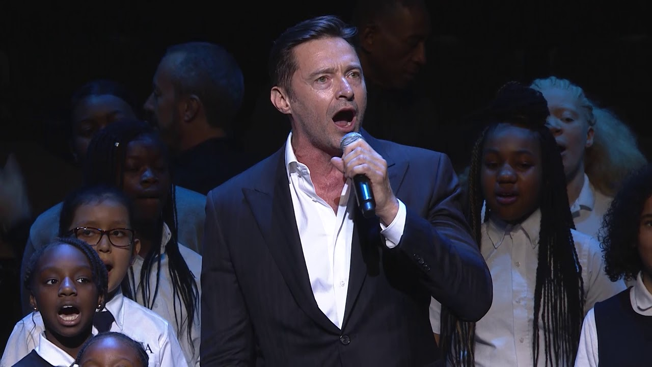 Harlem Village Academies Hugh Jackman Performs This Is Me To Support The Children Of Hva Youtube