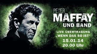 Peter Maffay Wenn das so ist Präsentation Zenith München Gelobtes Land Live