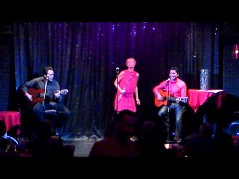 Jorge Acosta, Beata Stankiewicz y Lenny en The Palm Cabareth Puerto Vallarta,