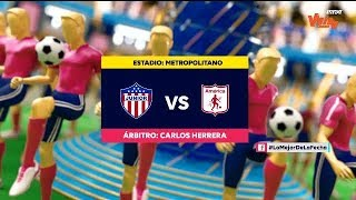 Junior vs. América (highlights) | Liga Aguila 2019-II | Final ida