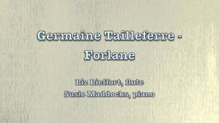 Germaine Tailleferre - Forlane