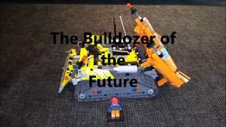 LEGO autonomous bulldozer