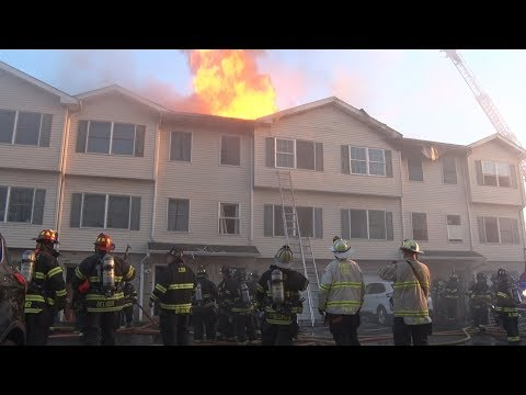 Lodi,NJ Fire Department General Alarm 4/22/18