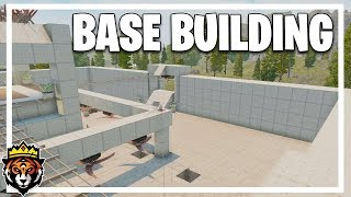 SOLO Building Episode! (7 Days to Die Alpha 17 Multiplayer Gameplay Part 55)
