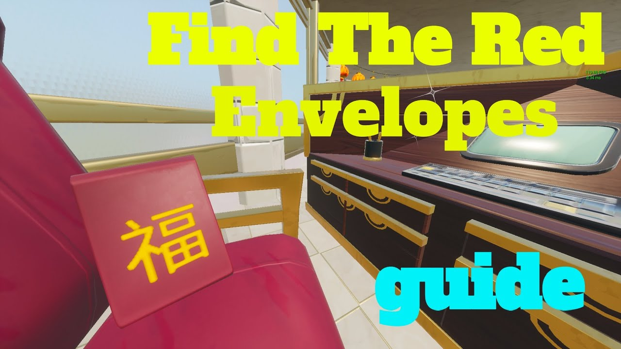 How To Complete Find The Red Envelopes By Yojj47 Fortnite