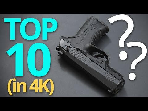 4K: The Real Top 10 9mm Handguns in the World ★ GUN HIPSTER EDITION ★ (NO GLOCKS)