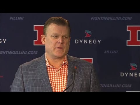 Brad Underwood Signing Day Press Conference 11/8/17