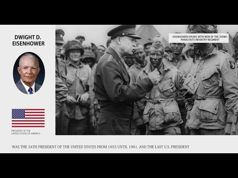 Dwight D. Eisenhower - Presidents of the United States Bios - Wiki Videos by Kinedio