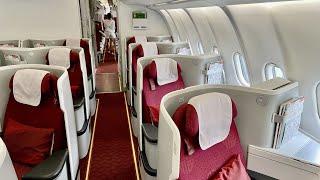 Hainan Airlines A330 300 Business Class Guangzhou Beijing 海南航空 A330 商務艙 廣州 北京