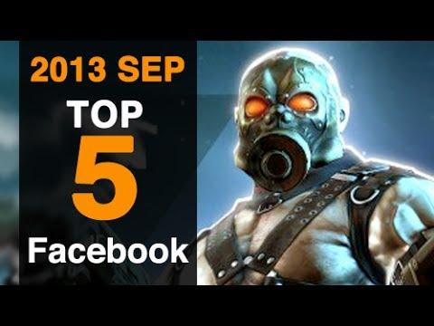 5 Best Facebook Games September 2013