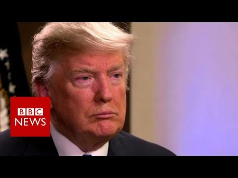 Trump: 'I'm the least racist person anybody is going to meet' - BBC News