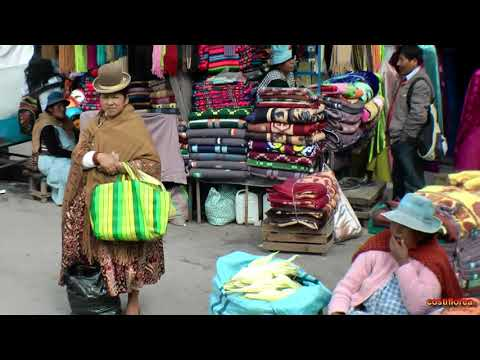 Bolivia - La Paz,Bus tour - South America,part 66 - Travel video HD