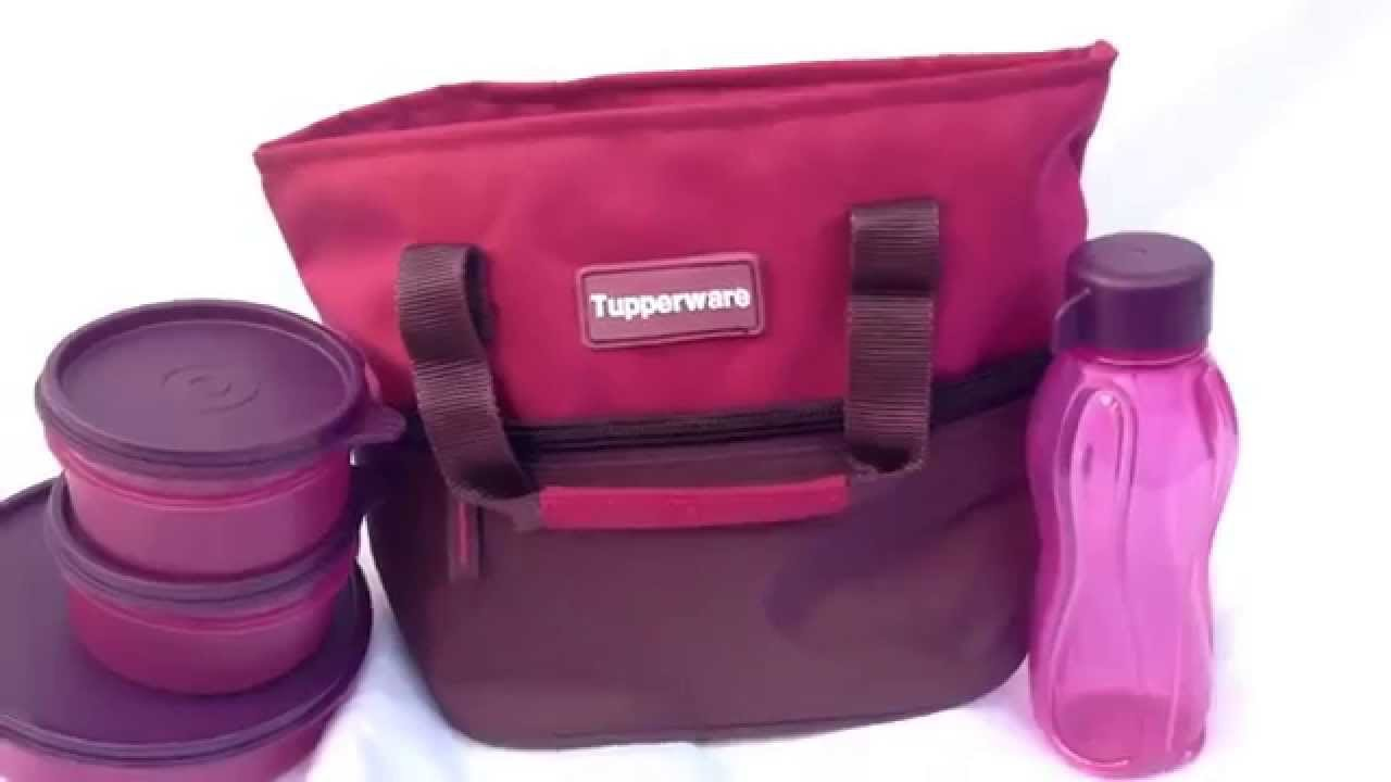 tupperware berrylicious lunch box youtube. Black Bedroom Furniture Sets. Home Design Ideas