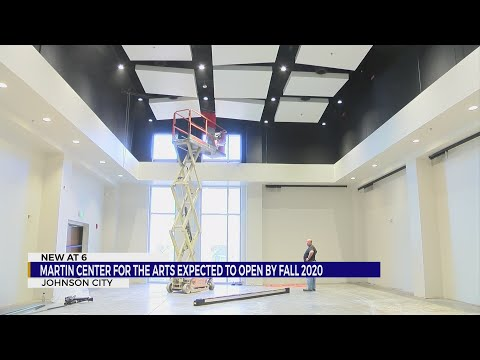 Martin Center for the Arts expected to open by Fall 2020
