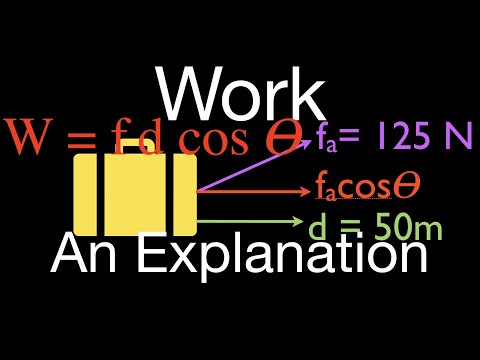Physics, Work, An Explanation