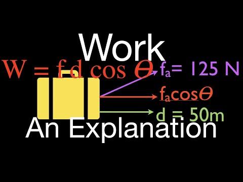 Physics, Work, An Explanation