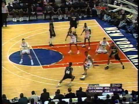 03/09/1996 Big East Final: #6 Georgetown Hoyas vs. #3 Connecticut Huskies