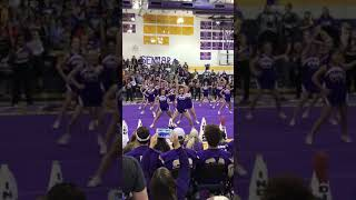 Alvarado High school Hats Off To Seniors pep rally dance 2017-2018