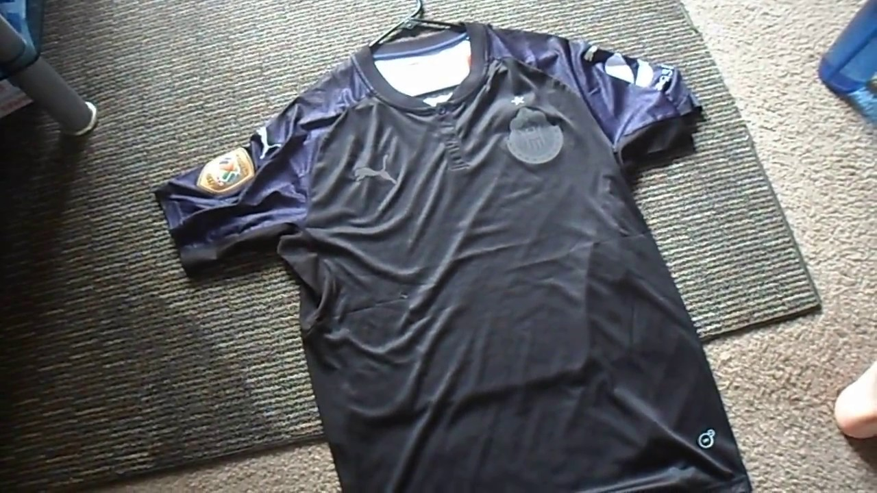 check out 16d33 33c51 Minejerseys.co Chivas Black Away 2017-18 Jersey Unboxing Review