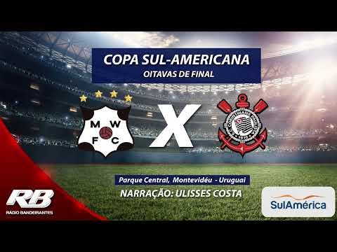 Copa Sul-Americana - Montevideo Wanderers X Corinthians - 1º/08/2019 - AO VIVO