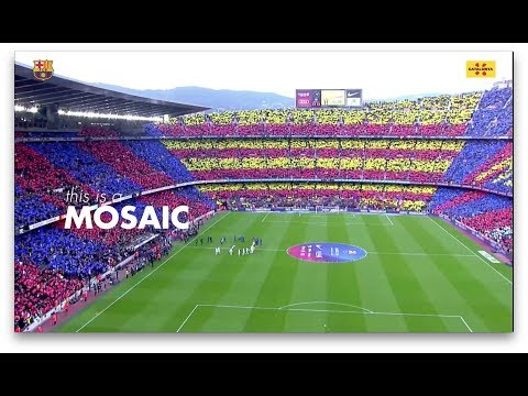 """Things about Catalonia that are linked to Barça: Lesson 2 """"Mosaic"""""""